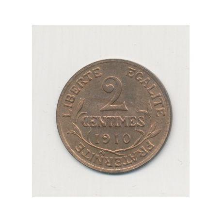 2 centimes Dupuis - 1910
