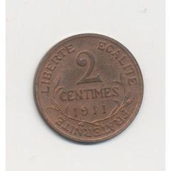 2 centimes Dupuis - 1911