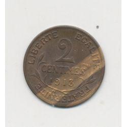 2 centimes Dupuis - 1913