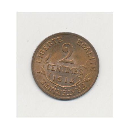 2 centimes Dupuis - 1914