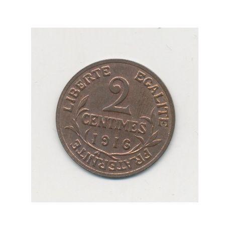 2 centimes Dupuis - 1916