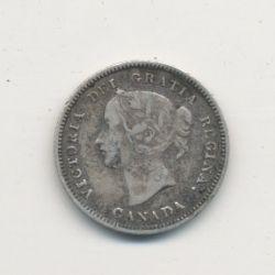 5 cents 1900 - Victoria