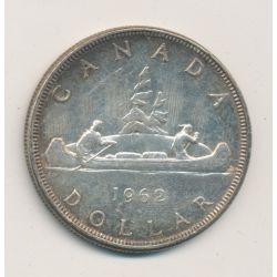 Dollar 1962 - Elisabeth II - canoe