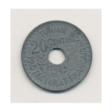 Tunisie - 20 centimes - 1942