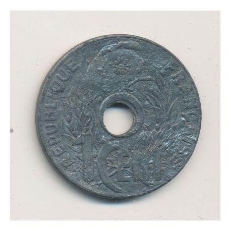 Indochine - 1 cent lotus - 1941 - 11 pétales