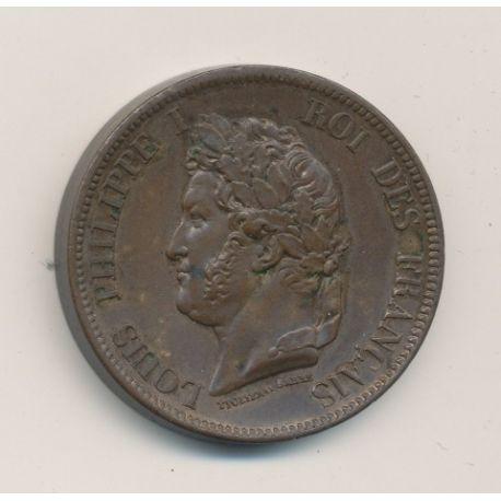 Colonies générales - 10 centimes 1844 A - Louis Philippe I