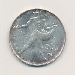 Saint-Marin - 500 Lires - 1981