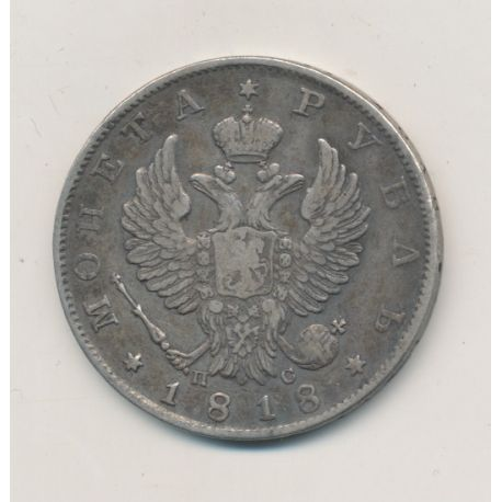 Russie - Rouble - 1818 - Alexandre I
