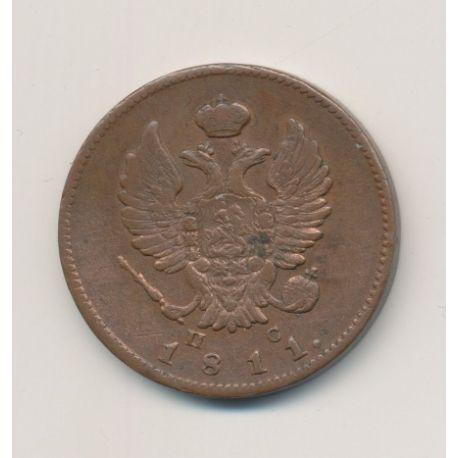 Russie - 2 Kopecks - 1811 - Alexandre I