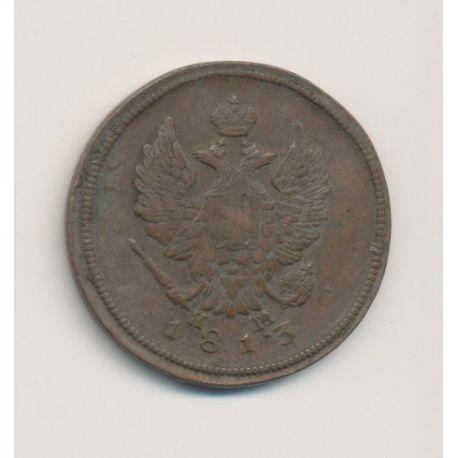 Russie - 2 Kopecks - 1813 - Alexandre I