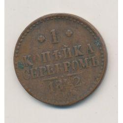 Russie - 1 Kopeck - 1842 CM - Nicolas I