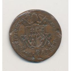 Vatican - 1 Baiocco - 1802 Rome - Pius VII