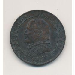 Vatican - 1 Soldo - 1867 XXIR - Pius IX