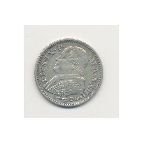 Vatican - 10 Soldi - 1868 XXIIIR - Pius IX