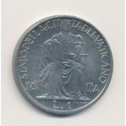 Vatican - 1 Lire - 1942