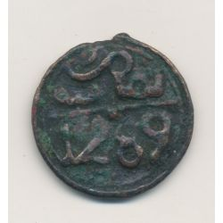 Maroc - 3 Falus - 1289/1872