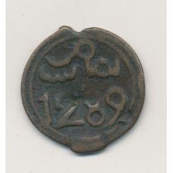 Maroc - 4 Falus - 1289/1872