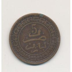 Maroc - 5 Mouzounas - 1321 H /1903