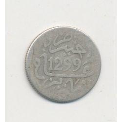 Maroc - 1/20 Rial - 1299/1882 - Hassan I