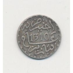Maroc - 1/20 Rial - 1310/1893 - Hassan I