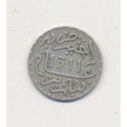 Maroc - 1/20 Rial - 1311/1894 - Hassan I