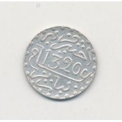 Maroc - 1/20 Rial - 1320/1902 - Abdul aziz I