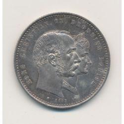 Danemark - 2 Kroner - 1892