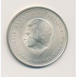 Danemark - 10 Kroner - 1968