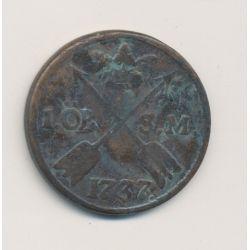 Suède - 1 Ore - 1737