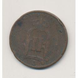 Suède - 5 Ore - 1877