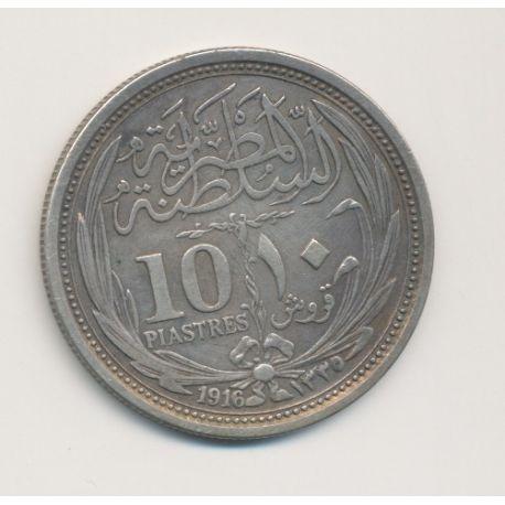 Egypte - 10 Piastres - 1916