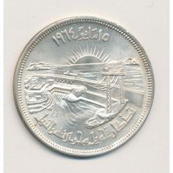 Egypte - 50 Piastres - 1964 - détournement du nil