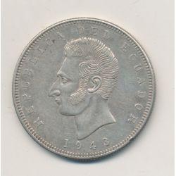 Equateur - 1/2 Sucre - 1915