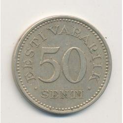 Estonie - 50 senti - 1936