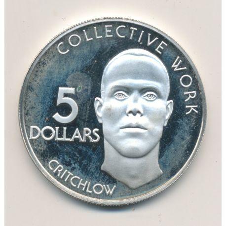 Guyane - 5 Dollars - 1978 - Critchlow