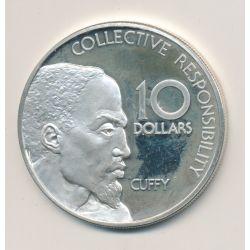Guyane - 10 Dollars - 1978 - Cuffy