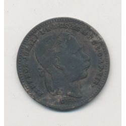 Hongrie - 20 Krajczar - 1870 - François Joseph I