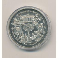 Libéria - 5 Dollars - 2002