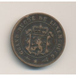 Luxembourg - 5 centimes - 1870