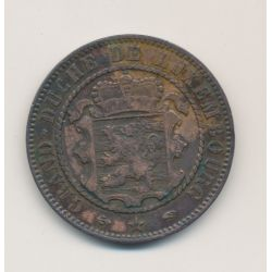 Luxembourg - 10 centimes - 1860 A