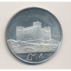 Malte - 4 Pounds - 1973