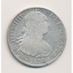 Mexique - 8 Reales - 1800 FM - Carolus IIII