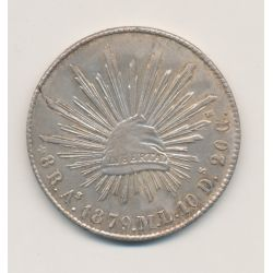Mexique - 8 Reales - 1879 AS ML