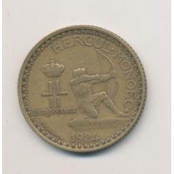 Monaco - 2 Francs - 1924 - Louis II