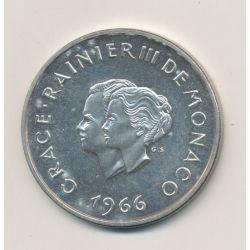 Monaco - 10 Francs - 1966 - Grace et Rainier III