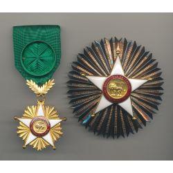 Sénégal - Ordre du lion - Ensemble de grand officier