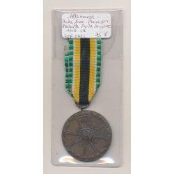 Allemagne - Mérite de guerre - Duché de Saxe/Meningen - 1915-1918
