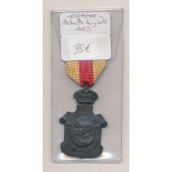 Espagne - Médaille du jubilé - 1925