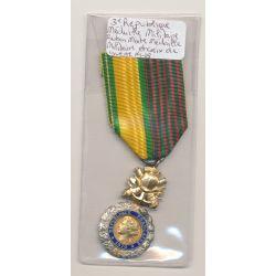 Médaille militaire - ruban mixte - médaille militaire et croix de guerre 1914-18