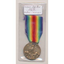 Italie - Médaille Victoire interallié - 1914-18